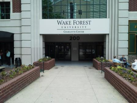 Wake Forest Entrance