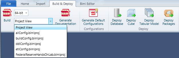 Build & Deploy Ribbon