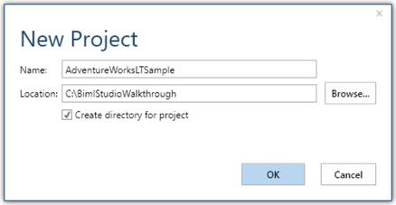BimlStudio Project Folder
