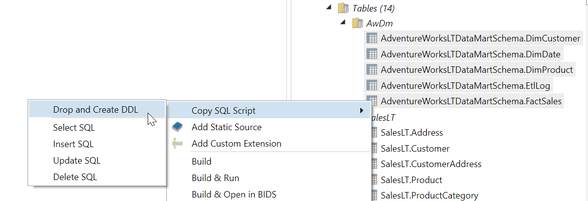 Copy SQL Script