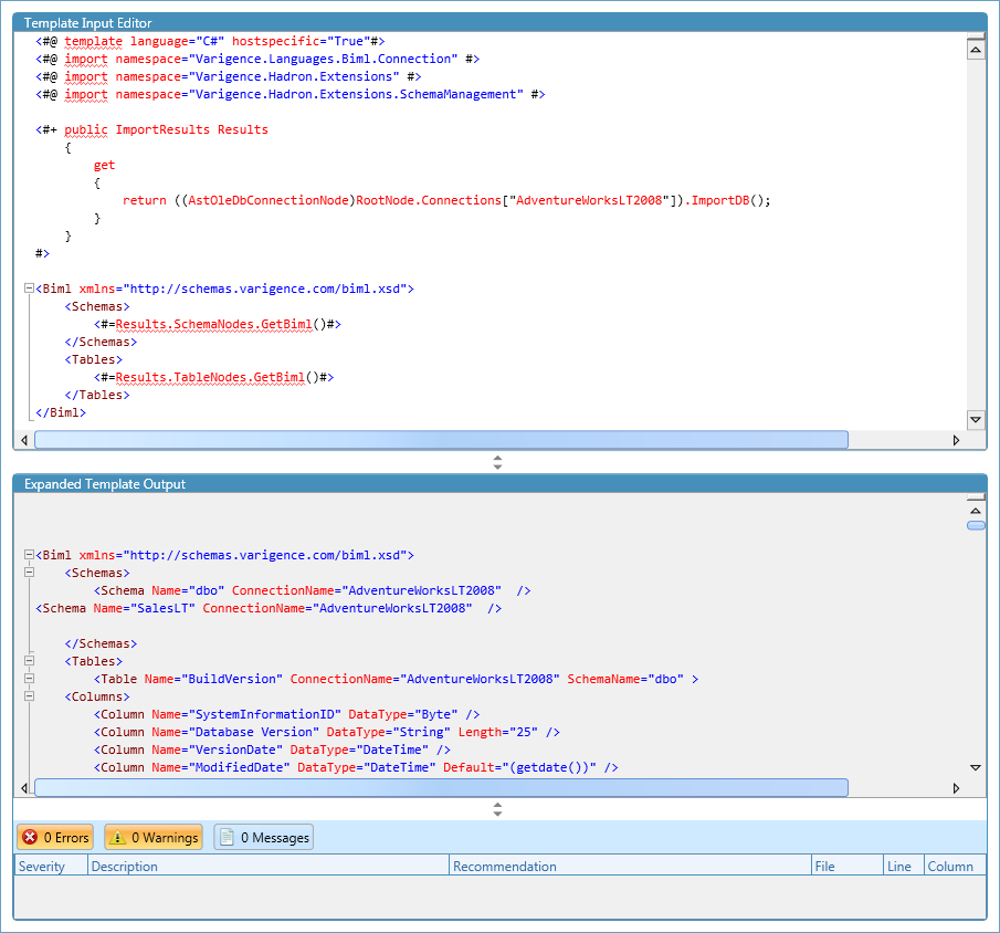BimlScript Designer