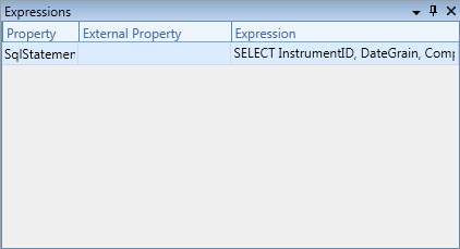 Expressions Tool Window