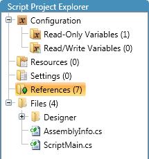 Script Project Explorer