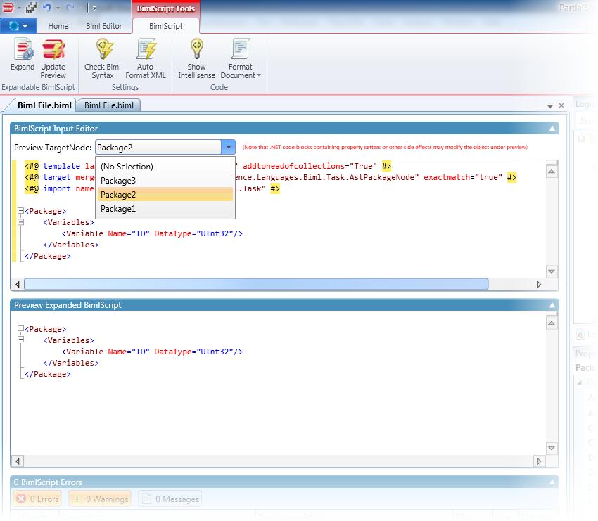 BimlScript Preview