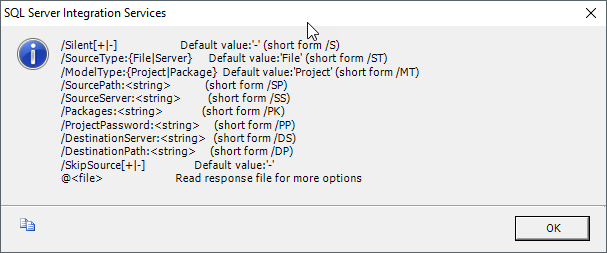 Deployment Options for SSIS